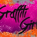 Graffiti Girl - Fine Artist