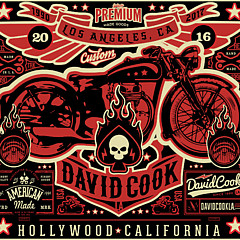David Cook Los Angeles Prints - Fine Artist