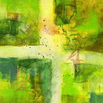 Abstractions in Green Collection