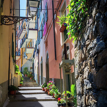 Alleys Lanes and Narrow Streets Collection
