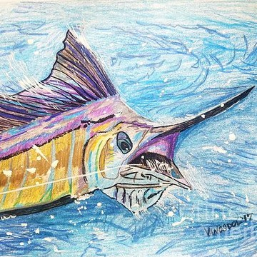 ART - Saltwater Fish & Sea Life Collection