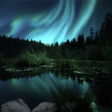 Aurora Borealis Northern Lights Photography Collection