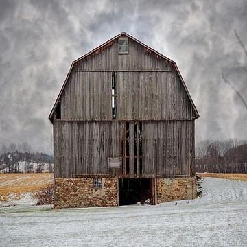 Barns and fields Collection