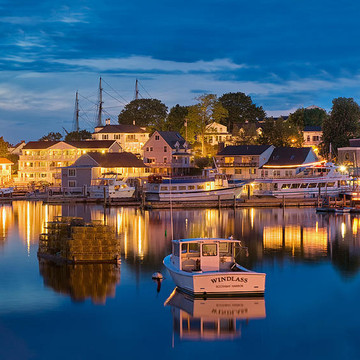 Boothbay Harbor Maine Collection