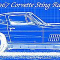 C2 Corvette Blueprint Series Collection