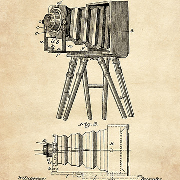 Camera Patent Art Collection
