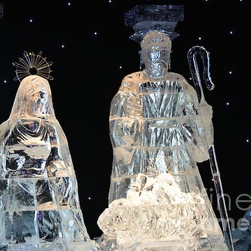 Ruth Housley Artwork Collection: Christmas Ice Sculptures And ...