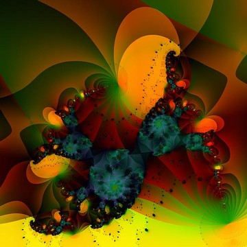 Complex Pattern Fractal Collection