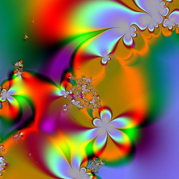 Flower Fractal Collection