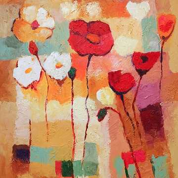Flowers Paintings Collection