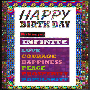 Happy Birthday HappyBirthday Greeting Cards Pillows Curtains Bags Tote Duvet PhoneCases NavinJoshi FineArtAmerica Pixels Collection