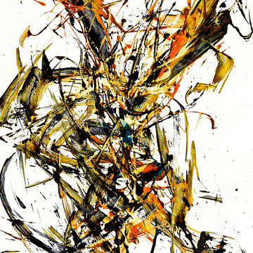 Modern Abstract EXPressionism Paintings Collection