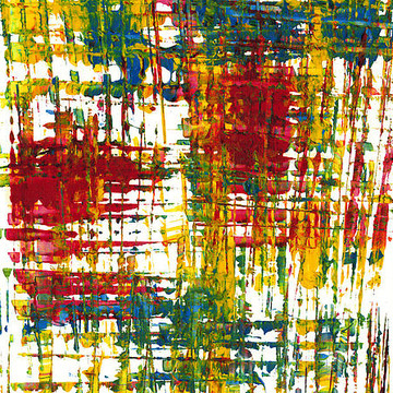 Modern Abstract Intensive Expressionism Paintings Collection