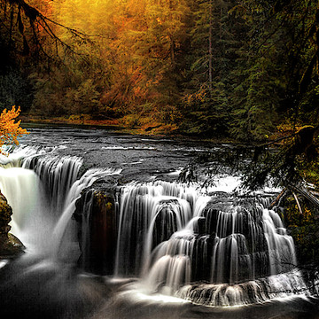 Pacific Northwest-Waterfalls and Streams Collection