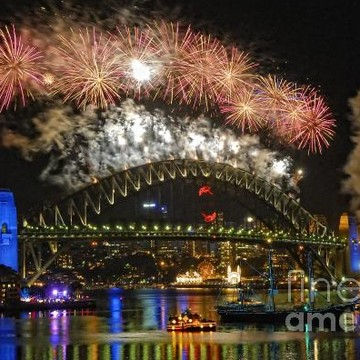 Sydney New Years Eve Fireworks Collection