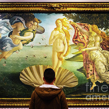 The Uffizi Gallery Florence Italy Collection