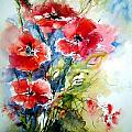Watercolors Flowers Collection