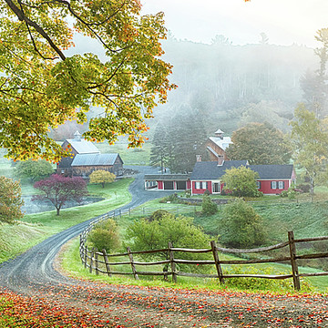 Woodstock Vermont New England USA Collection