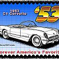 Year-By-Year C1 Corvettes 1953 - 1962 Collection