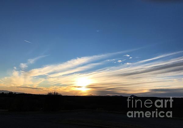 Nancy Worrell - Sunset on the High Plains