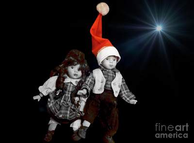 Selective Color Depicting Christmas