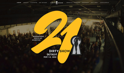 21st Annual Erotic Art Exhibition - Dirty Show -...