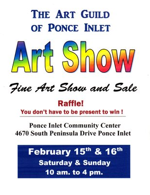 Art Guild Of Ponce Inlet Fine Art Show And Sale