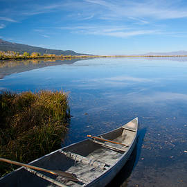 Idaho Scenic Images Linda Lantzy - Canoe at Red Rock