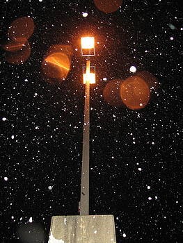 Sandy Tolman - Snow at Night - 1773