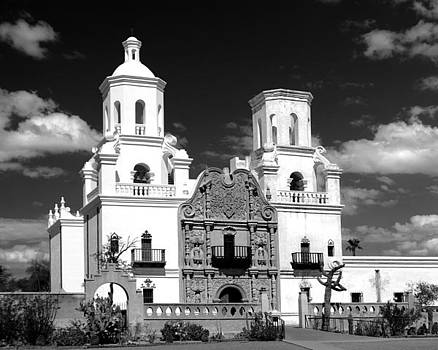Douglas Taylor - MISSION SAN XAVIER - SHADES OF GREY