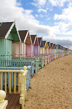 Fizzy Image - Row of Beach huts