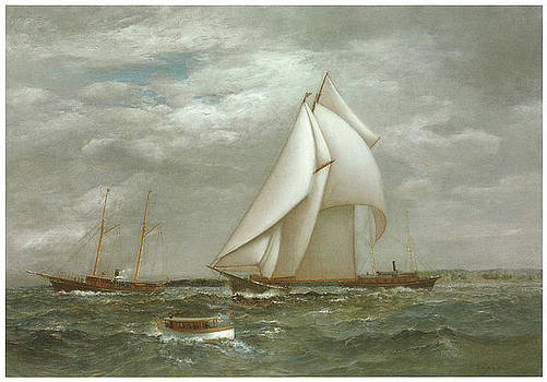 James Gale Tyler - A Centerboard Schooner of the New York Yacht Club