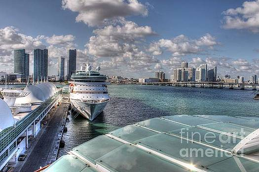 Ines Bolasini - A cruise at Miami Port