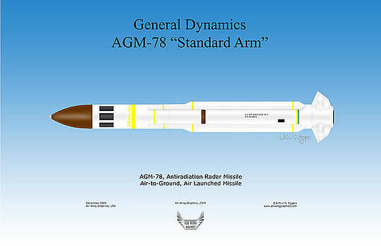 anti radiation missile arthur eggers artwork collection weapons