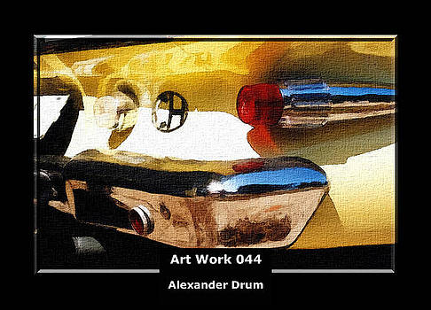 Alexander Drum - Art Work 044 Plymout Fury