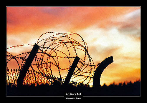 Alexander Drum - Art Work 048 Barbed wire