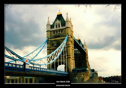Alexander Drum - Art Work 228 Tower Bridge London