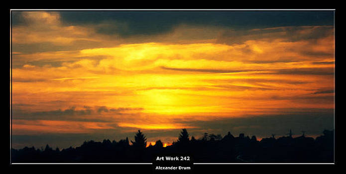 Alexander Drum - Art Work 242 sunset