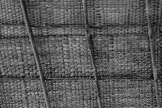 Kantilal Patel - Bamboo shack roof weave