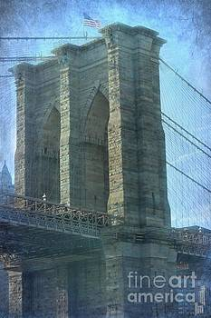 Sophie Vigneault - Brooklyn Bridge in Blue