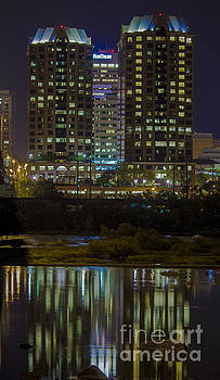 Debra K Roberts - Crown Plaza Reflection on the James