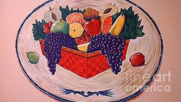 Andrew Hench - Decorative Platter Mural
