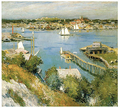 William Leroy Metcalf - Gloucester Harbour
