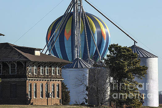 Debra K Roberts - Hot Air Ballon Landing