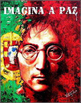 Vitaliy Shcherbak - John Lennon - a man of peace and the world. Portugal