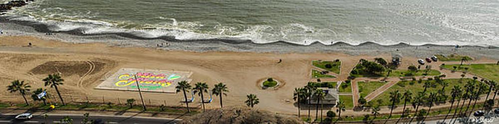 Allen Sheffield - Miraflores Beach Panorama