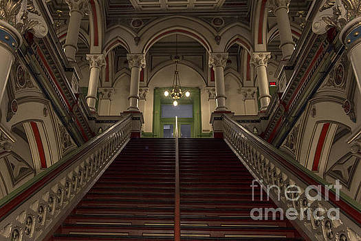 Debra K Roberts - Old City Hall Stairway to Above