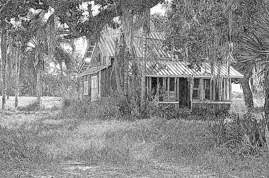 Ronald T Williams - Old Florida House Pencil