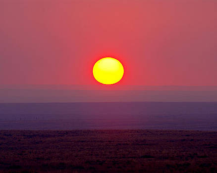 Douglas Taylor - PAINTED DESERT SUNSET