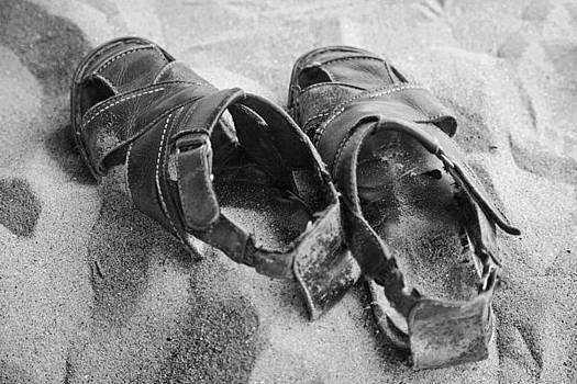 Kantilal Patel - Sandals in the Sand